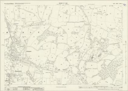 Kent LXXVIII.3 (includes: Hawkhurst) - 25 Inch Map