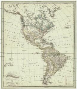 Carte von America