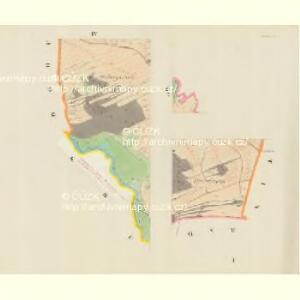 Blauda (Bludoff) - m0118-1-001 - Kaiserpflichtexemplar der Landkarten des stabilen Katasters