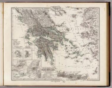 Griechenland Und Der Griechisch-Turkische Archipel.