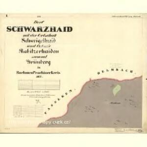 Schwarzhaid - c0872-1-001 - Kaiserpflichtexemplar der Landkarten des stabilen Katasters