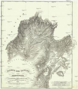 Karte des Taurus und seinen Nebenzweige in den Paschaliken Adana und Marasch, nebst dem angrenzenden Theile des Paschalikes von Aleppo