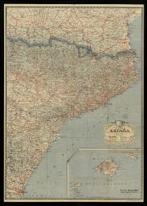 Mapa general: España: Hoja 1: (Barcelona, Castellon, Gerona, Huesca, Lérida, Tarragona, Teruel) / Imp. de l'Institut Cartographique de Paris