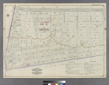 Part of Wards 24 & 29. Land Map Section, No. 5, Volume 1, Brooklyn Borough, New York City.
