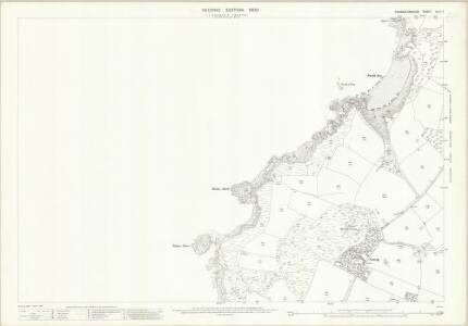 Caernarvonshire XLIII.7 (includes: Aberdaron) - 25 Inch Map