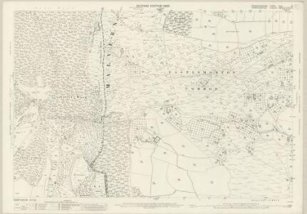Worcestershire XLVI.16 (includes: Castlemorton; Eastnor; Ledbury Rural; Little Malvern) - 25 Inch Map