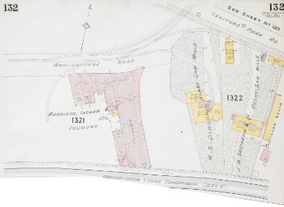 Insurance Plan of the City of Manchester Vol. IV: sheet 132-1