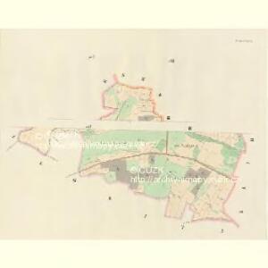 Hodiegau (Hoděgow) - c1921-1-003 - Kaiserpflichtexemplar der Landkarten des stabilen Katasters
