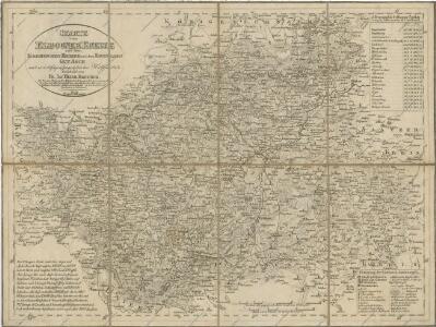 Charte vom Elbogner Kreise mit dem Egerischen Bezirk...