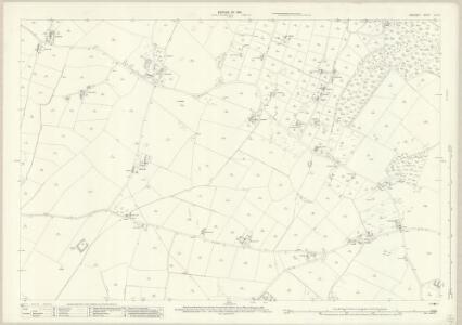 Anglesey XIV.15 (includes: Llanddona; Llansadwrn; Pentraeth) - 25 Inch Map