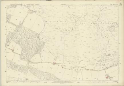 Dorset LVI.4 (includes: Corfe Castle; Studland; Swanage) - 25 Inch Map