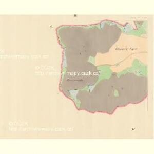 Woleschna Böhmisch (Woleschna Česka) - m0390-1-002 - Kaiserpflichtexemplar der Landkarten des stabilen Katasters