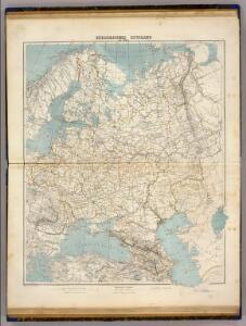 Europaeisches Russland mit Polen.