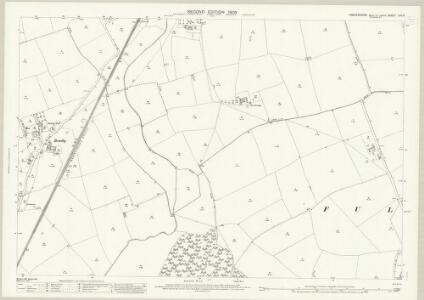 Lincolnshire LXII.3 (includes: Bullington; Fulnetby; Snelland; Stainton by Langworth; Wickenby) - 25 Inch Map