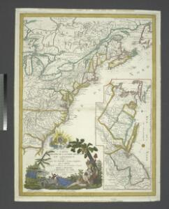 Carte du theatre de la guerre presente en Amerique dressée d'après les nouvelles cartes anglaises / par L. Denis, géographe et auteur du conducteur français.