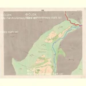 Lomna (Lomno) - m0508-1-007 - Kaiserpflichtexemplar der Landkarten des stabilen Katasters