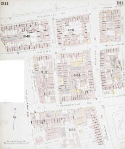 Insurance Plan of London North District Vol. D: sheet 11-1