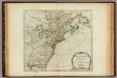 North America from the French of Mr. D'Anville.