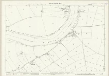 Lincolnshire X.14 (includes: Amcotts; Flixborough; Gunness) - 25 Inch Map