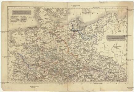 Nordwestliche deutsche Bundesstaaten, Nordoestliche deutsche Bundesstaaten