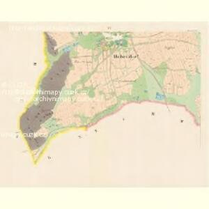Hohendorf - c5583-1-004 - Kaiserpflichtexemplar der Landkarten des stabilen Katasters