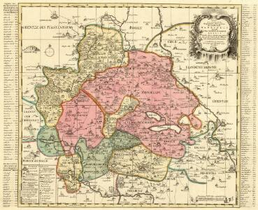 Accurate Geographische Delineation der Graffschafft Mannsfelt Sowohl Char Sächsisch: als Brandenb. Hoheit