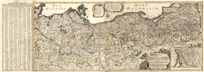Kriegs Schau-Platz In Preussischen Landen bestehend