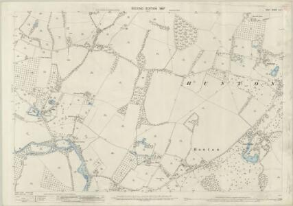 Kent LII.1 (includes: Hunton; Yalding) - 25 Inch Map