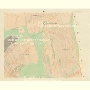 Gross Blatnitz - m0108-1-006 - Kaiserpflichtexemplar der Landkarten des stabilen Katasters