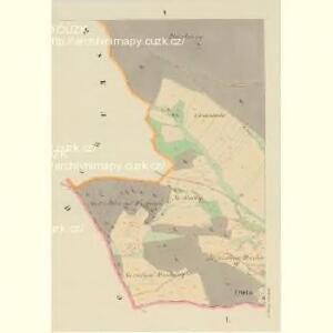 Mallechau (Mallechow) - c4396-1-003 - Kaiserpflichtexemplar der Landkarten des stabilen Katasters