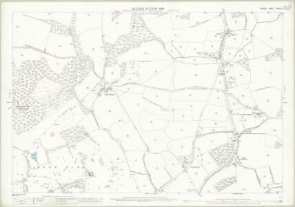 Surrey XXXIX.9 (includes: Alfold; Bramley; Cranleigh; Dunsfold; Hascombe) - 25 Inch Map