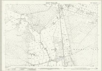 Dorset XXVI.11 (includes: Holt; Horton; Verwood; West Parley) - 25 Inch Map