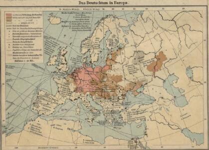 Das Deutschtum in Europa