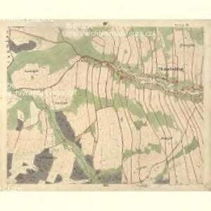 Meinetschlag - c4437-1-004 - Kaiserpflichtexemplar der Landkarten des stabilen Katasters