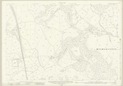 Glamorgan XLVII.5 (includes: Lecwith; Michaelston Le Pit; St and rews Major; Wenvoe) - 25 Inch Map