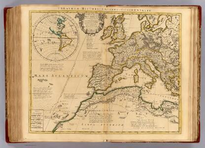 Theatrum historicum ad annum Christi quadringentesimu. Pars occidentalis.
