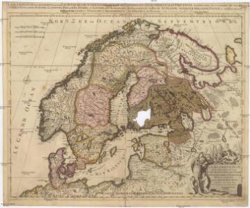 La Scandinavie et les environs, ou sont les royaumes de Suede, de Danemark, et de Norwege