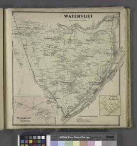 Watervliet [Township]; Watervliet Center [Village]; Watervliet Center Business Directory.; North Albany [Village]