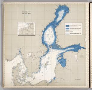 Ice Chart, Baltic Sea, February.