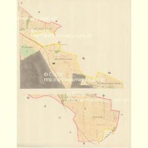 Gösling - m1293-1-001 - Kaiserpflichtexemplar der Landkarten des stabilen Katasters