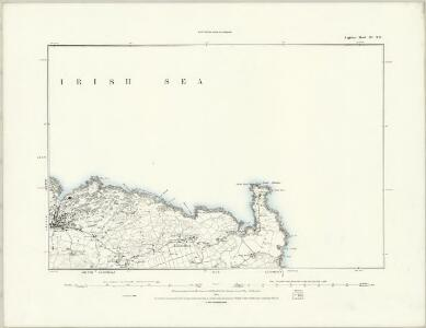 Anglesey III.NW - OS Six-Inch Map