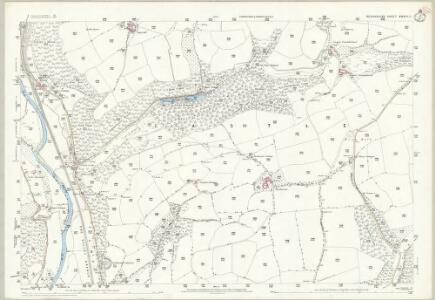 Devon XXXIV.11 (includes: Tiverton; Washfield) - 25 Inch Map