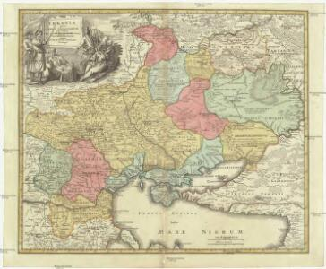 Vkrania quae et terra Cosaccorvm cum vicinis Walachiae, Moldaviae, minorisq[ue] Tartariae provinciis