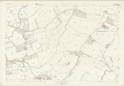 Worcestershire XLVII.14 (includes: Castlemorton; Longdon; Upton upon Severn; Welland) - 25 Inch Map