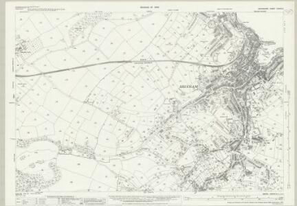 Devon CXXVIII.2 (includes: Brixham; Churston Ferrers) - 25 Inch Map