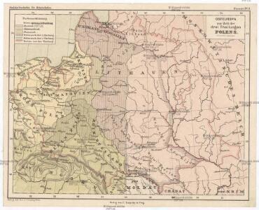 Osteuropa zur Zeit der drei Theilungen Polens.