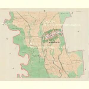 Bohuslawitz - m0144-1-002 - Kaiserpflichtexemplar der Landkarten des stabilen Katasters