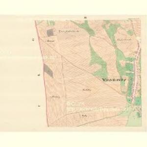 Watzenovitz (Wacenowic) - m3248-1-003 - Kaiserpflichtexemplar der Landkarten des stabilen Katasters