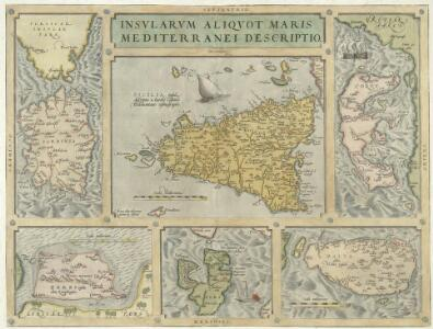 Insvlarvm Aliqvot Maris Mediterranei descriptio
