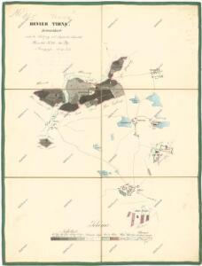 Porostní mapa revíru Trnová